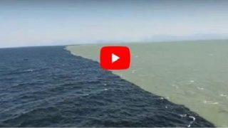 Уникален природен феномен! Вижте сами срещата на две морета!