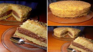 Уникално вкусна домашна торта с млечен крем