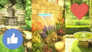 Вижте 10 идеи за водопад, езеро или фонтан в градината!