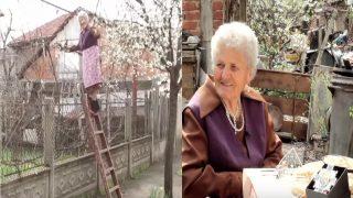 Вижте баба Финка на 92г която стана винар номер 1 за производство на домашно вино!