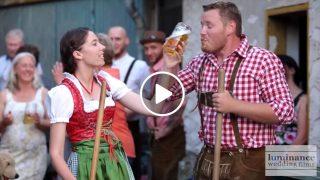Приказна Сватба от Германия – Погледнете как празнуват там