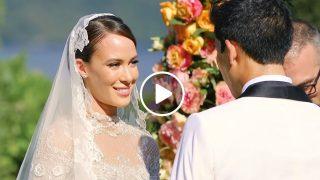 Изключително Впечатляваща Италианска Сватба
