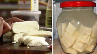 С 2 литра прясно мляко си направих домашно меко сирене с тази лесна рецепта