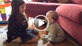 Майка им засне на камерата Специален момент и само за часове клипа обиколи света!