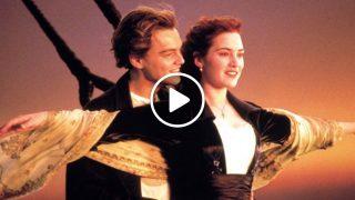 Специален поздрав с песента от филма Титаник
